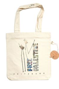 """Picture of Free Palestine """"Birds"""" - Bag"""