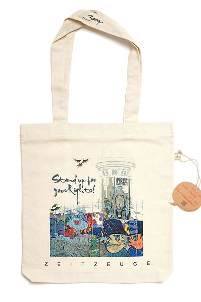 """Picture of Free Palestine """"Voice"""" - Bag"""