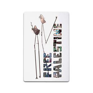 """Bild von Free Palestine """"Birds"""" - Magnet"""