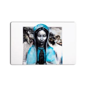"Picture of Maria ""Pray"" - Magnet"
