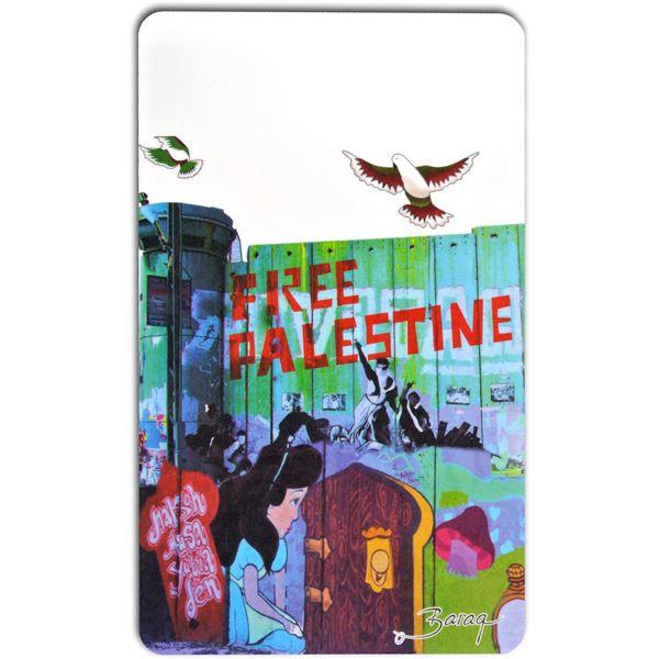"""Bild von Free Palestine """"Snow White"""" - Cutting Board"""